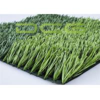 Anti - Aging Fake Football Grass Synthetic Football Field 50 Mm Pile Height