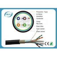 Buy cheap Dual Layer Jacket Cat6 LAN Cable Outdoor FTP Al Foil Shielded PVC PE Material product