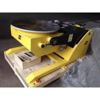 China Small Hydraulic Rotary Welding Positioners / Welding Positioning Equipment 380V 50HZ on sale