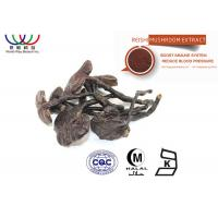 Buy cheap Water Soluble Reishi Mushroom Extract Brown Fine Powder Support Circulatory System product