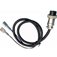 Buy cheap Plug Resistant M16 2 Pin 500mm Overmolded Cable Assembly product