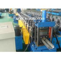 Buy cheap Full Auto Steel Profile Frame Roll Forming Machine Hydraulic Punching product