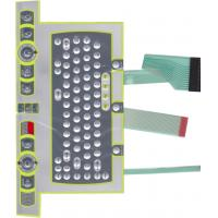 China Industrial Control Gloss PC Metal Dome Membrane Switch Keyboard , Waterproof on sale