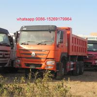 Buy cheap Chinese Sinotruk Howo 6x4 sand dump truck for sale product