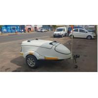Buy cheap Cold Rolled Steel Fiberglass Motorcycle Trailers / Fiberglass Luggage Trailer product