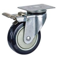Buy cheap Pu casters with total brake product