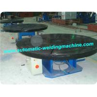 Buy cheap Rotary Welding Positioners , Welding Turntable For Steel Pipe product