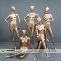 China New fashionale used female posing mannequins on sale