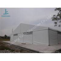 Buy cheap Large Span Aluminum Frame Industrial Storage Tents , Temporary Storage Tents from wholesalers