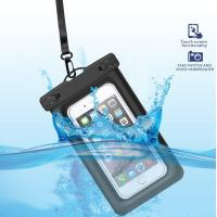 Buy cheap Eco-Friendly  Floating Waterproof Phone Case TPU Waterproof Dry Pouch with Air-Filled Frame Function product