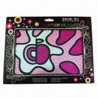 Buy cheap 2012 new style rhinestone laptop sticker, customized designs and sizes are accepted product