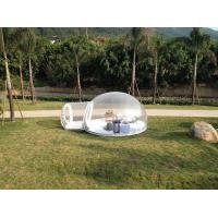 Durable 0.6 And 0.8mm PVC Inflatable Party Tent For Relax Transparent