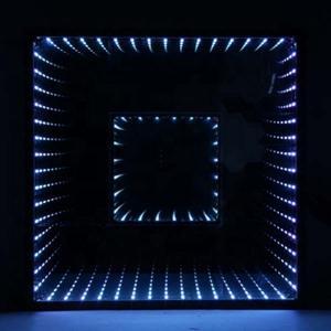 China Waterproof RGB LED Light Dance Floor Nightclub 3D Time Tunnel Lighting Equipment on sale