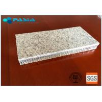 China Saving Stone Material Honeycomb Granite Panels Limited Radiation Pollution on sale