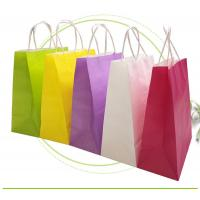Buy cheap Strong Sealing Matt Kraft Paper Bags Large Size Customized Print Accepted from wholesalers
