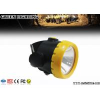 Buy cheap 1W 4000 Lux LED Mining Light With 2.2Ah Li-Ion Battery Water Proof IP68 product