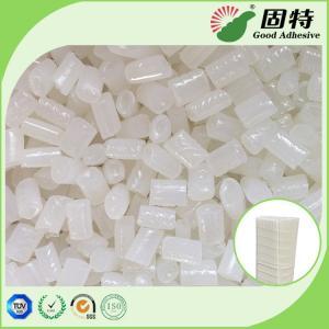 Buy cheap EVA Yellow Hot Melt Pellets Excellent Flowability For Close - Pleat Air Filter product