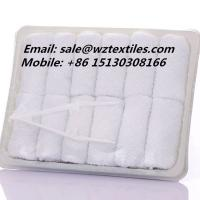 China 12g Airplane towel disposable hot towel face towel on sale