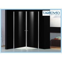 Buy cheap 6 mm Clear Tempered Glass Frameless Shower Enclosure Pivot Door 6550-1 product