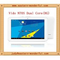 Buy cheap RK3066 dual core 7inch android tablet mini Ipad with HD touch capacity screen product