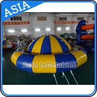 Buy cheap Giant Water Floating Inflatable Saturn Rocker / Inflatable Water Disco Boat product