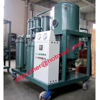 Lubrication Oil Filtration System Purify Waste White Grey