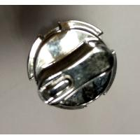 Buy cheap Customized Silver Anodizing Precision CNC Aluminum / Zinc Alloy Turned Twist Switch product