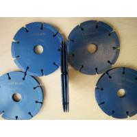Buy cheap 125mm Hot pressed Three Layers Tuck Point Diamond Blades from wholesalers