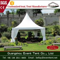 Buy cheap Cone Shaped High Peak Pagoda Marquee Tents , Outdoor Wedding Tent 5m * 5m from Wholesalers