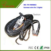 Buy cheap Waterproof and Fireproof Wiring Harness with Deutch connectors for 2 Lights Simultaneously product