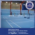 Buy cheap Anti-slip waterproof Indoor PVC Sports Flooring for Badminton court product