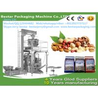 Automatic coffee peanut bean granule salt sugar packing machine production line Bestar packaging