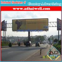 Buy cheap Gantry Spanning Advertising Billboard Sign Construction product