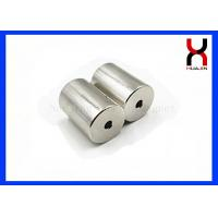 Buy cheap Countersunk Cylinder Shaped Magnet Permanent for Package Box Industry product