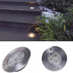 Buy cheap EMC Test Paaed CRI 85 Aluminum Material Housing LED Underground Light product