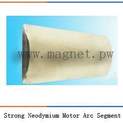 Buy cheap Strong Neodymium Motor Magnet Arc Segment product
