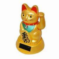 Buy cheap Bobble Head/Solar Toys/Minnie/Power Lucky Cat/Power Dancing Pig, Made of Non-toxic Material product
