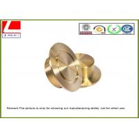 Buy cheap Computer Numerical Control CNC Custom Machining Precision Brass Components from Wholesalers