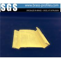 Buy cheap New Decorative  Extrusion Brass Window Channel Customized Profiles product