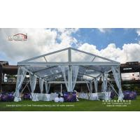 Buy cheap 200-300 People Waterproof Clear Party Tent with Clear Top for Outdoor Parties and Events from wholesalers