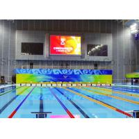 Buy cheap Indoor SMD P5 Stadium Display Programmable Electronic Billboard Full Color LED Video Walls With Magnetic Module product