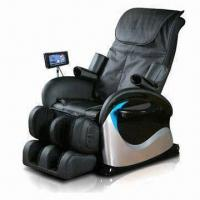 Massage Chair with Touch Screen Remote Control and Backrest Heating Function