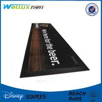 Buy cheap Comfortable Natural Rubber / Soft Pvc Bar Mats 60 x 10 x 1.5 mm Heat Sublimation Printing product