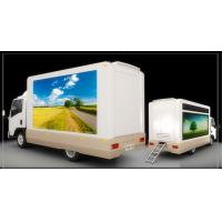 Buy cheap Full Color Mobile LED Truck Advertising , Truck Mounted LED Screen With Multi Media Control product