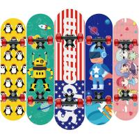 Buy cheap Wooden Promotional Colorful Children Skateboard  Logo Customized product