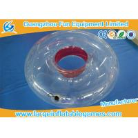 Buy cheap 2018 New design TPU/ PVC Durable Inflatable Swimming Ring Towable Ring product