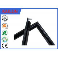 Buy cheap Black PVDF Coating Aluminium Solar Panel Frame For 200 Watt Solar Panel Mounting Frames from Wholesalers