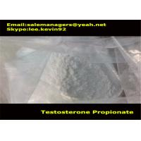 Buy cheap Cas 57-85-2 Muscle Growth Steroids Testosterone Propionate Powder / Test Propionate product