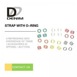 China Plastic Adjustable Strap Buckle , Multi - Shaped Underwear Bra Strap Buckle on sale