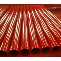 Buy cheap High Performance Concrete Pump Pipe / Concrete Rubber Hose With Single / Double Layer product